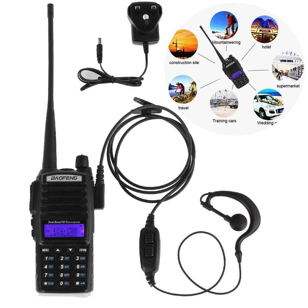 Baofeng uv 82 рация 8 Вт двухдиапазонный двухсторонний радио CB136-174/400-520 МГц Ручной радиопередатчик fm-радио приемник UV-82 радио-антенна