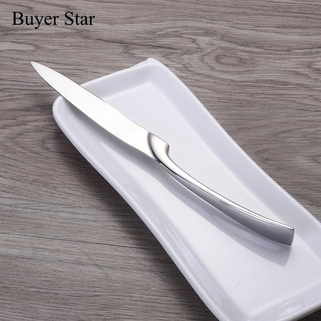 1624pcs/set Stainless Steel Tableware Cutlery Sets Mirror Polished Silver Plated Metal Tableware Western Dinner Fork Knife Scoop 4