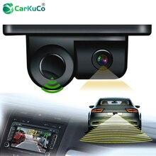Новый 2 в 1 Авто парктроник звуковой сигнал автомобиля Реверс Резервное копирование Видео парковочный датчик радар с HD реверсивная камера заднего вида для автомобилей