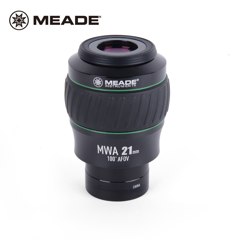 Meade High-end Extreme Wide Angle Instruments Monocular Astronomical Telescope Eyepiece 100 Degree MWA 21MM 2 Full Multi-coated swa 1 25inch 15mm super wide angle 70 degree eyepieces for astronomical telescope five elements fully coated high index glass