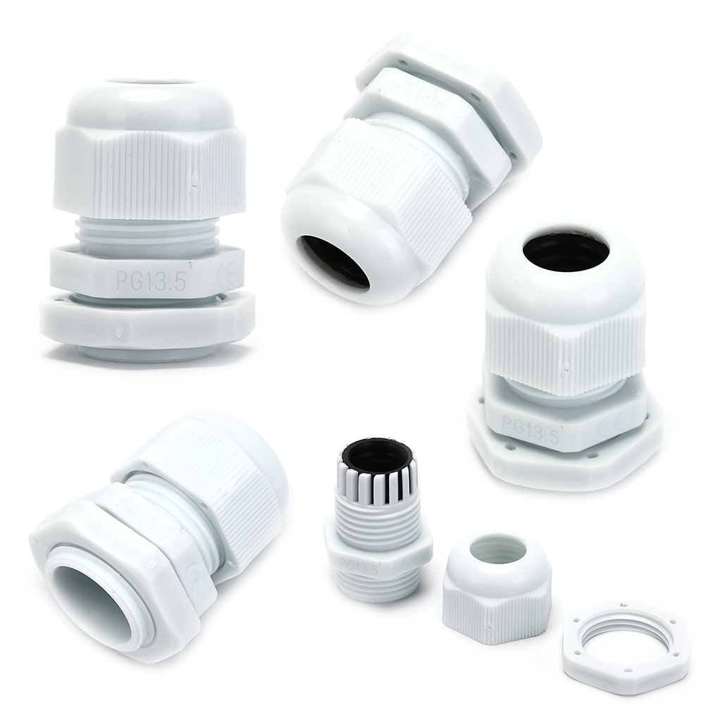 40mm Waterproof IP68 Compression Cable Stuffing Gland With Locknuts