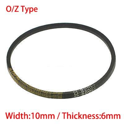 Z/O Type 737 750 762 10mm largeur 6mm épaisseur rainure en caoutchouc Machine crantée bande de Transmission cale corde Vee V courroie de distribution