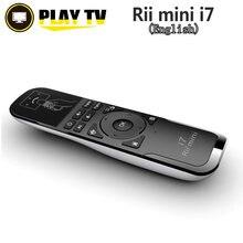 Orijinal Rii Mini i7 2.4G kablosuz Fly Air fare uzaktan kumanda hareket algılama dahili için 6-Axis android tv kutusu akıllı PC