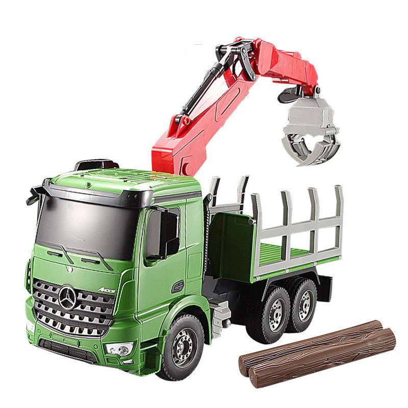 Construction Riding Toys For Boys : Remote control construction toys truck rc crane