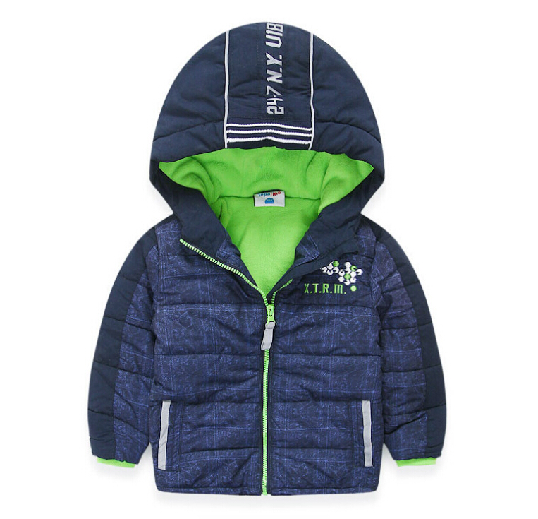Brand boy jackets children hoodies children outerwear new 2017 winter warm kids boy clothes windproof waterproof