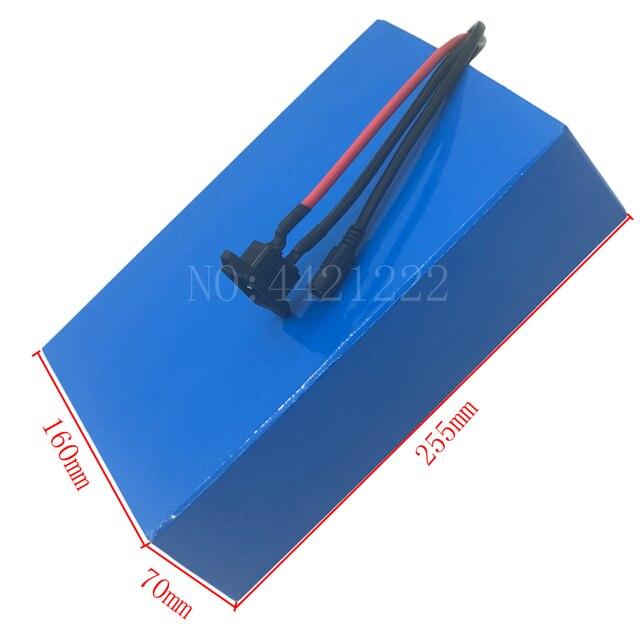 48v 20ah battery pack 48v lithium ion battery 48V 20Ah ebike battery 48 volt lithium battery for 48V 1000W 1500W 2000W motor