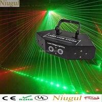 Niugul RGB Laser Lines Beam Scans DMX DJ Dance Bar Coffee Xmas Home Party KTV Disco Effect Lighting Light System Show LED Beam