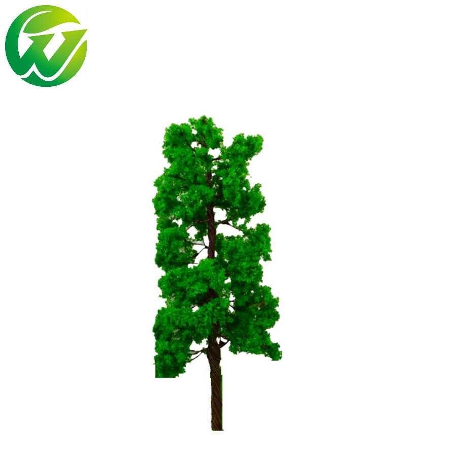 20Pcs Model Trees Train Scenery Landscape N Scale 1/100 Plastic Architectural Model Supplies Building Kits Toys for Children