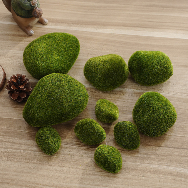 New Foam green Moss ball 5Pcs Marimo Aquarium Plant Cladophora Underwater Fish Tank Ornament,hot sale