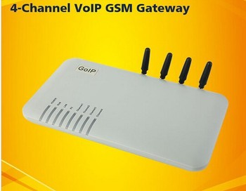GSM Gateway.SMS, GSM SIP VoIP Gateway GOIP4,4 ports,4 channels GOIP-4