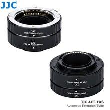 JJC מתכת אוטומטי פוקוס עדשת צינור מתאם טבעת עבור Fujifilm XT200 X T4 X A7 XT30 XT20 XA3 XT2 XE3 XA5 XA10 XA20 XH1 XPRO3 XT100