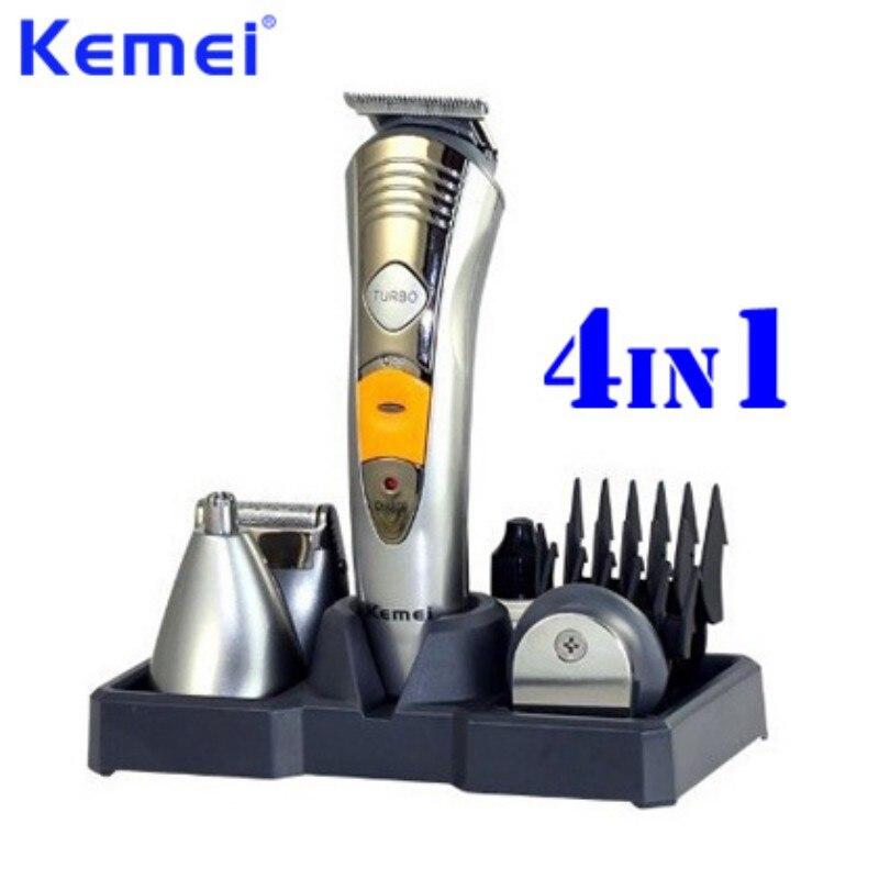 KEMEI 7 en 1 professionnel Multinational tondeuse à cheveux nez oreille tondeuse à cheveux Rechargeable Machine de coupe de cheveux EU Plug KM-580A
