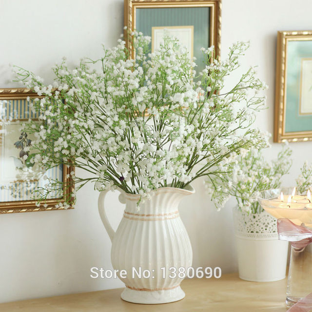 10pcs hand craft silk vision flowers artificial flowers gypsophila 10pcs hand craft silk vision flowers artificial flowers gypsophila babies breath home decoration flowers no mightylinksfo