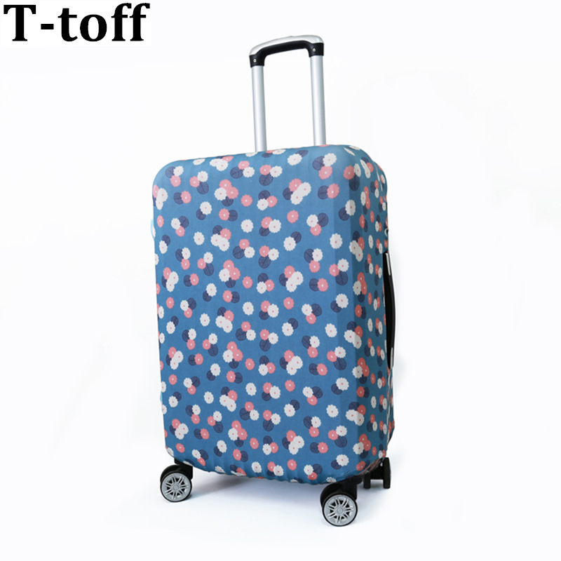 Aksesori Travel Luggage Cover Elephant Travel On Road Cover Protector Cover Printed Patchwork Protective Trunk Covers Apply