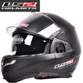 Free shipping CASCO CAPACETES flip up motorcycle helmet double dual lens ls2 ff393 helmet multifunctional combination