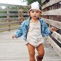 1 UNID Plumas Diadema Recién Nacido Baby Girl Toddler Kids Accesorios Para el Cabello Diadema Rhinestone de La Flor Fotografía Proposición
