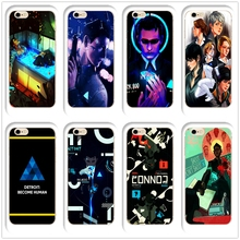 DK Detroit Become Human new role playing game phone case Cover Hard Transparen for iPhone 6 6s 7 8plus 5s 5c 4s X XS XR XSMAX