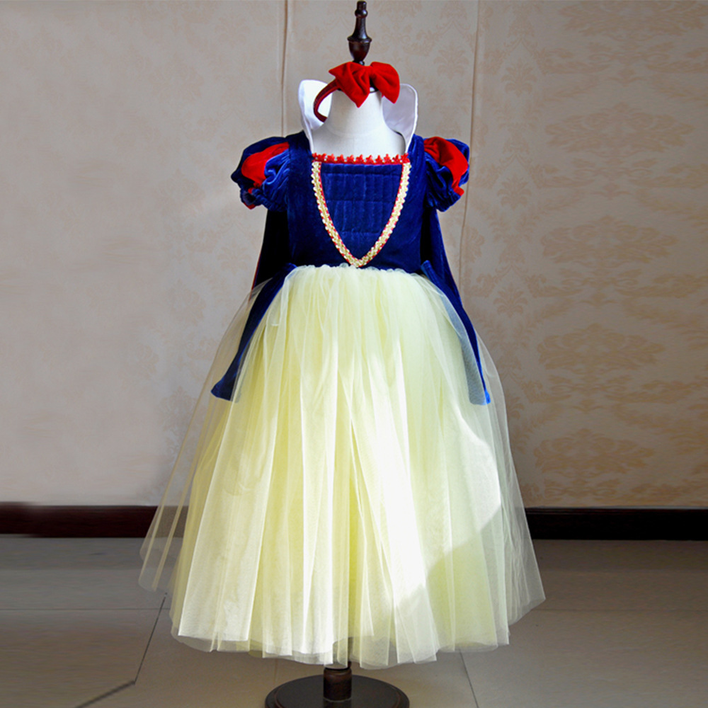 girl children's princess dress and children's play performance Dress Costume of snow princess dress dress wholesale competitiveness and agricultural export performance of nigeria