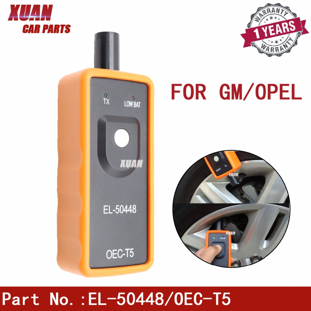 EL-50448 TPMS Reset Tool For Opel Aglia Corsa Astra Insignia Meriva Zafira Antara Combo Auto Tire Pressure Monitor Sensor