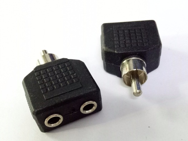 100pcs RCA Male Plug to 2 x 3.5mm Mono Jack Dual Audio ... on audio jack adapter, audio cord adapters, cell phone to headset adapters, audio receiver for iphone 5, radio shack wi-fi adapters, audio jack converter, trailer hitch connector adapters, audio wire adapters, digital audio to stereo adapters, female stereo audio adapters, male to male rca jack adapters, rca connectors adapters, audio cable, audio to headphone adapters, discount audio headphone adapters, audio jack to speaker wire, audio y connector, headphones and adapters, cables and adapters, monitor connector adapters,