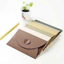 South Korea stationery retro creative color love Pearl large thick color branded envelope 17*11cm 40pcs/set