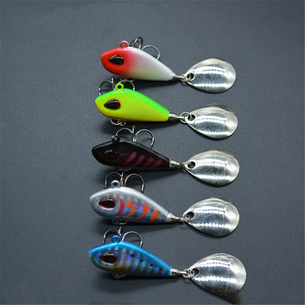 1pcs New Metal VIB with Spoon Fishing Lure 6g 10g 17g 25g Hard Bait Crankbaits Vibration Wobbler Sinking Bait Fishing Tackle 10pcs 21g 14g 10g 7g 5g metal fishing lure fishing spoon silver and gold colors free shipping