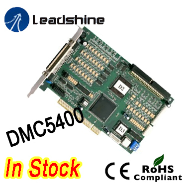 Free shipping Leadshine 4 Axis PC Based Motion Controller DMC5400 DMC5400A high performance motion control card performance analysis of fuzzy logic controller based control system