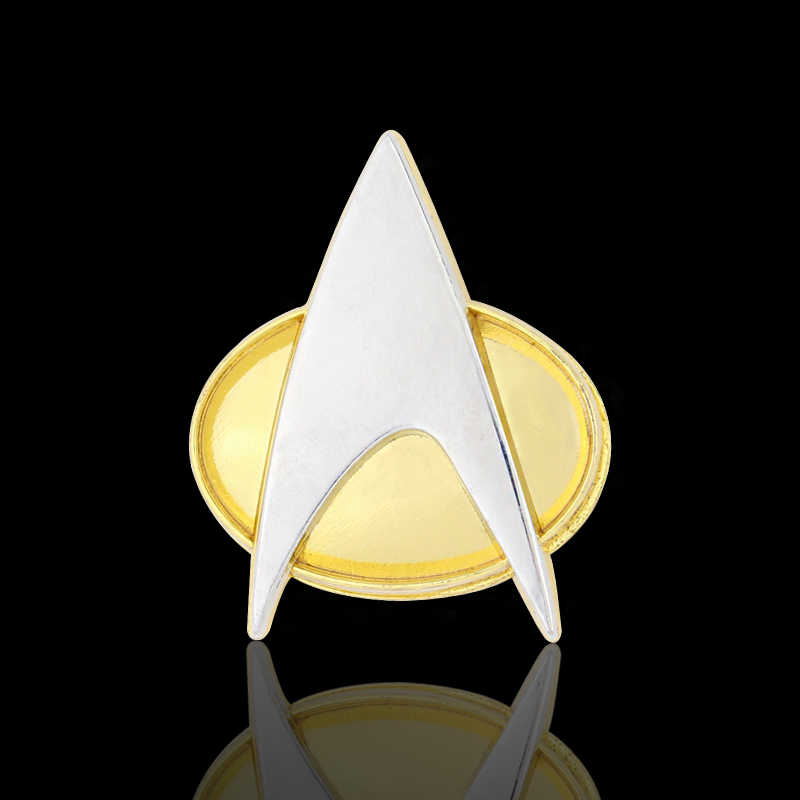 Detail Feedback Questions about Cosplay Star Trek Badge Star