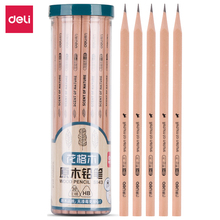 цены Deli 30/barrel triangle wood pencils HB pencil students for writing pencils student stationery standard pencils school supply