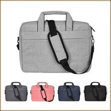 Laptop Schulter Tasche Wasserdichte Multi funktionale Stoff Laptop Sleeve Tasche für MacBook Pro 15, Acer Asus Dell Lenovo HP notebook