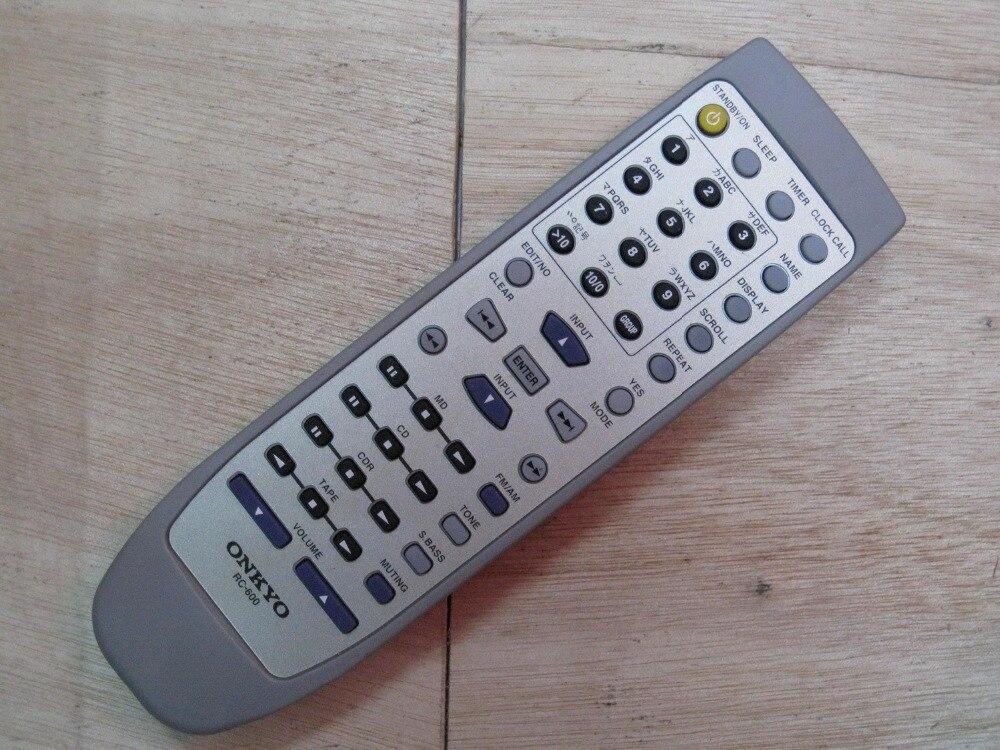 Original ONKYO remote control RC-600 can match FR-7GX,FR-9GX,FR-N3X,FR-N9,CS-315 литой диск replica fr ty141 7 5х18 5х114 3 d60 1 ет45 gmf