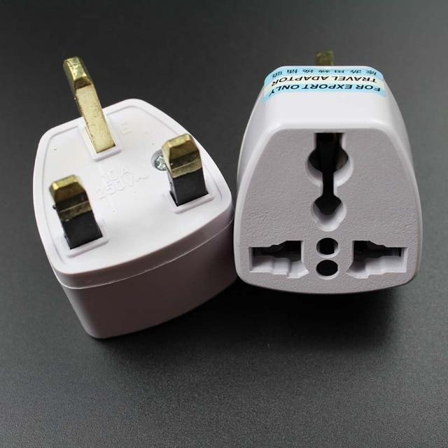 20pcs Lot British Singapore Malaysia Universal Travel Ac Power Adapter Plug Au Eu Us To Uk