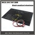 RAMPAS MK2A 300*200*3.0mm 1.4 Parte 3D0280 MK3 Heatbed PCB Alumínio Para 3D de Impressora