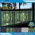 Pintura 3D película estática película de la ventana película de la ventana en casa decoraciones de vidrio BZ121-R021-B001 películas 5 m por paquete con alta calidad