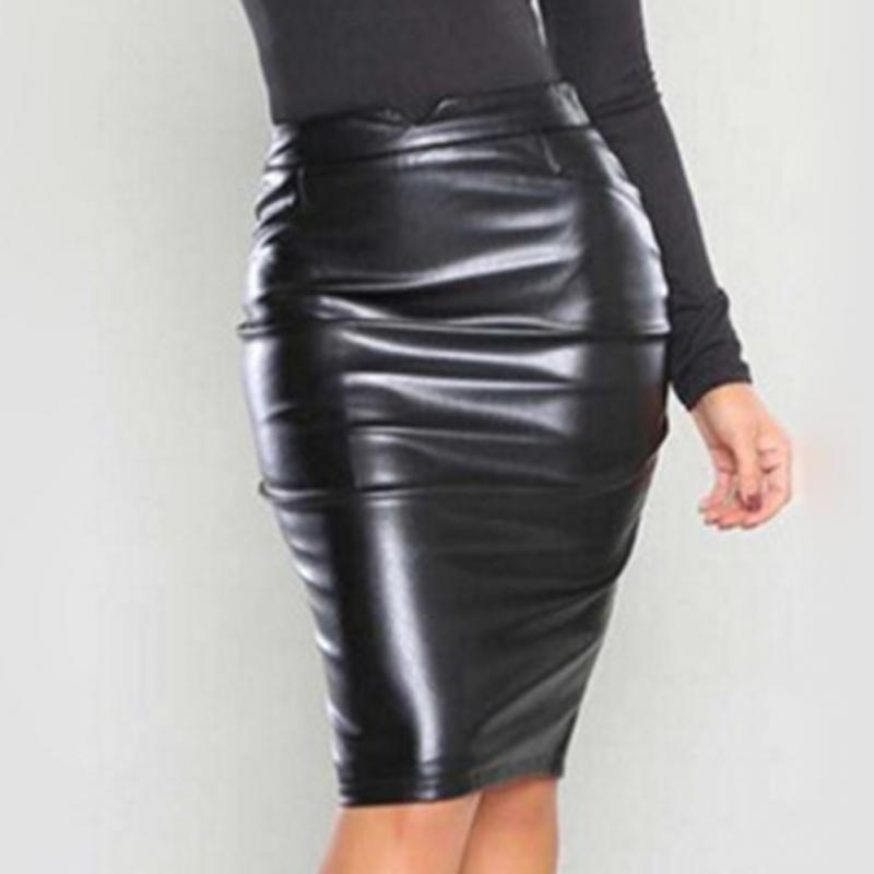 Popular Leather Long Skirt-Buy Cheap Leather Long Skirt lots from ...