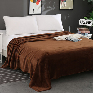 Image 4 - סופר רך חם מוצק חם מיקרו קטיפה שמיכת צמר שטיח ספה מצעים כפול כיסוי המיטה שמיכות למיטה מכסה