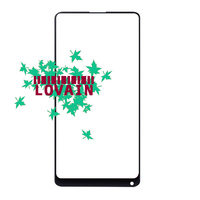 LOVAIN 50PCS Black White Genuine Original For Xiaomi Mix 2 Mi Mix Evo Front Glass Lens