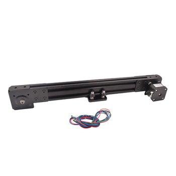 2040 v-slot Z axis sliding table stroke 300mm synchronous belt slide