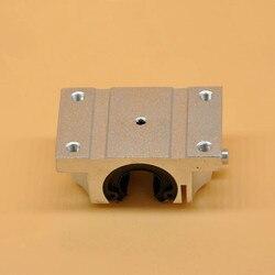 4 sztuk TBR16UU 16mm liniowe łożyska kulkowe blok routera CNC poduszka do części CNC poszerzyć otwarty blok łożyska