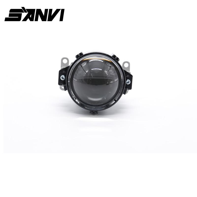 Hot Sale SANVI H7 9006 H4 Universal Type 3 Inch Auto Lights Bi LED Projector Lens hot sale prdl18 7dn lengthen type