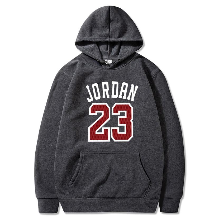 2019 Brand Male Hip Hop Long Sleeve JORDAN 23 Hooded Sweatshirt Mens Hoodie Tracksuit Sweat Coat Casual Sportswear Hoodies