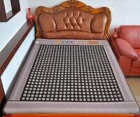 Single Bed Mattress Jade Tourmaline Heating Cushion Health Mattress Far Infrared Thermal Cushion Free Shipping