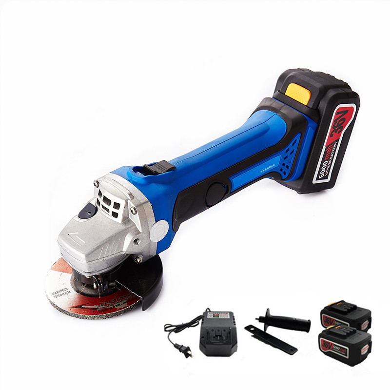 Electric Grinding Tools ~ V rechargeable lithium battery cordless angle grinder