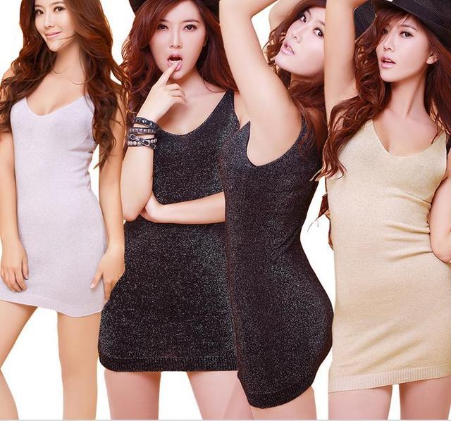 2016 новых женских мода тонкий сексуальный v-образным рубашка и длинные участки трикотажные темы яркий шелк майки