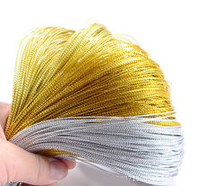 1000 yards Metallic Silver Gold Purl Wire Coil Bullion Cord Craft Jewelry 1.0mm DIY