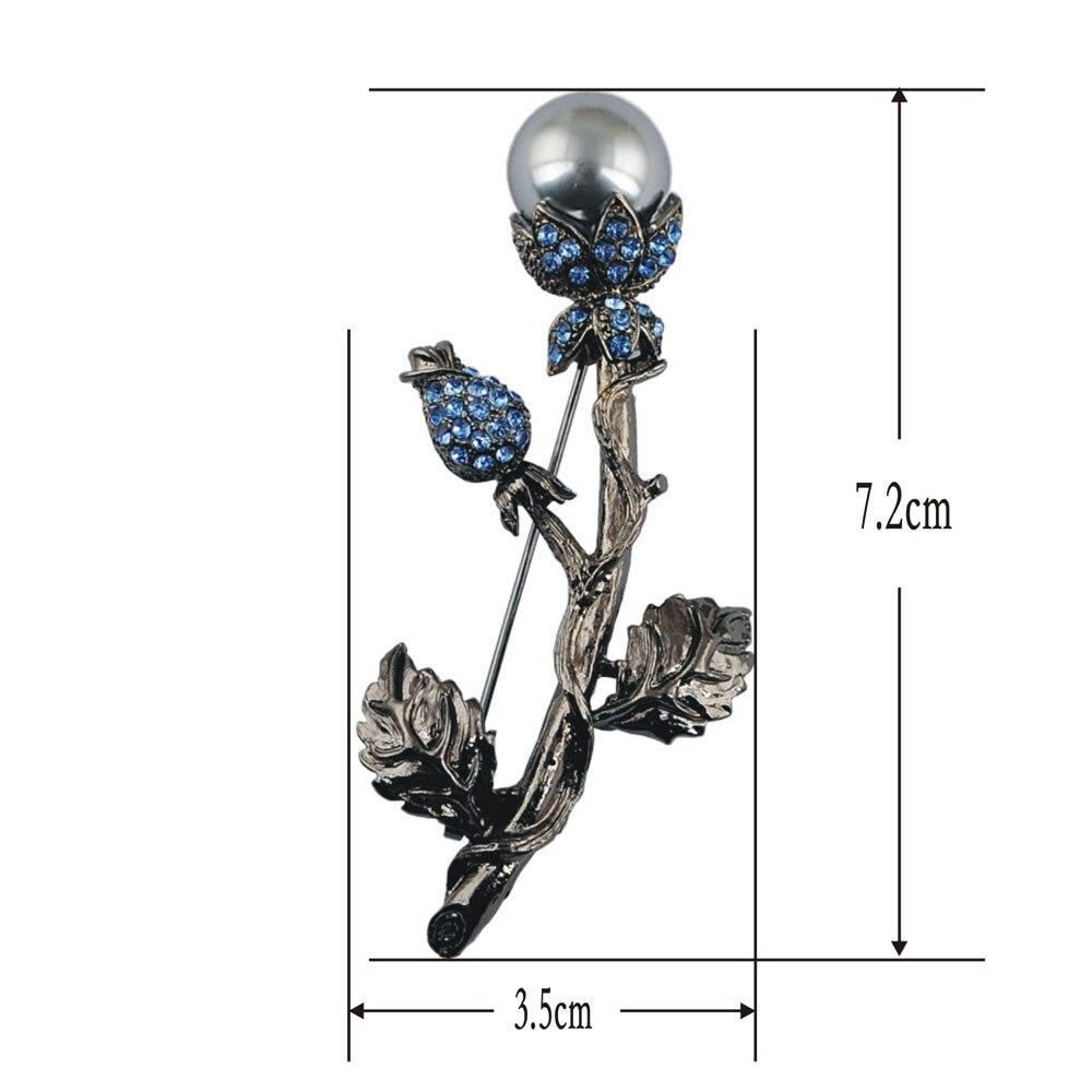 Kuuma myynti muoti naisten tyylikäs helmillä kiva korut musta - Muotikorut - Valokuva 3