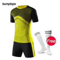 DIY Outdoors Sports Men S Soccer Jerseys Add Team Logo Name Number Football Kits Adult Suits