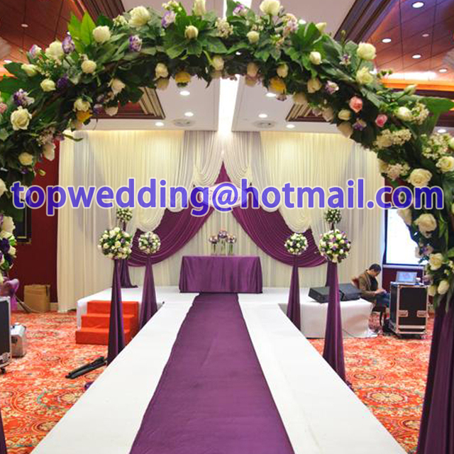 2017 Wedding Backdrops For Decoration Fashion Selling Cloth Art Background Hotel Bar Curtain Decorations Party