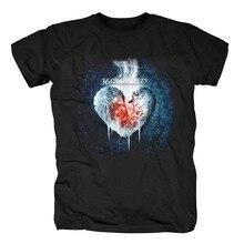 Кровопрочные 36 crazyfists hardcore заснеженные вершины Романтика/разрушите альбом карты черная футболка Азиатский размер