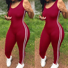 Legginsy damskie fitness spodnie kombinezon Athletic Romper(China)
